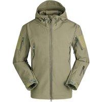 ESDY Mens Warm Military Tactical Sport Fleece Hoodie Jacket