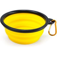 'Portable Tpe Silicone Foldable Expandable Water Feeding Travel Pet Bowl Cup Dish For Dog Cat