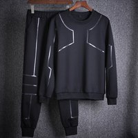 Men Winter Slim Fit Tracksuit Jogging Suit Men Sportswear Running sets
