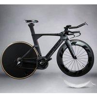 Triathlon bicycle carbon TT bike frame AERO time trial frame TM6
