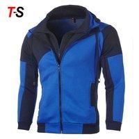 Custom Outdoor Cardigan Long Sleeve Casual Slim Mens Sports Hooded Jackets