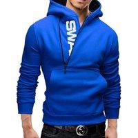 2018 Quality Cotton Size M-6XL Men Hoodies Fleece Warm Pullovers Sweatshirts Mens Hoodies Jacket Hip Hop Sportswear