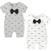 Newborn  Baby Clothing Baby Toddler Clothing Soft Cotton  Baby Romper with Bow