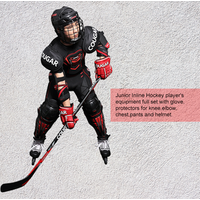Best Quality factory made COUGAR full set players hockey equipment