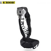 ETOOK 1100mm/900mm/750mm Special Steel Motorcycle Chain Lock With OEM Welcome