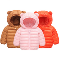 Customized Cotton Lightweight Kids Winter Padded Down Coat Jacket