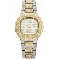 Miss Fox 292 Brand Fashion Full Crystal Ladies Dress Wrist Watch Stainless Steel Luxury Quartz Women Diamond Watch Relojes 2019