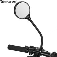 WEST BIKING MTB Mirror Cycling Frame Tires Mirror Aluminium Other Bicycle Accessories Bike Cycling Bicicleta Rearview Mirror