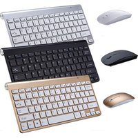 'Portable Bluetooth Wireless Keyboard And Mouse Combo For Apple Ipad Android Tablet