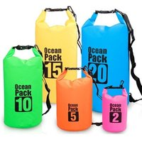 2016 new products outdoor waterproof sport dry bag with adjustable shoulder strap for beach,drifting,Mountaineering