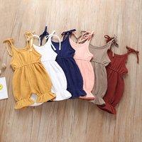 Linen Baby Bodysuit Romper Overalls Newborn Baby Muslim Clothing M90327