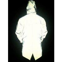 4XL Mens Jacket Reflective light Hoodies Movement Hip Hop Waterproof Windbreaker hooded Coat Men Jackets Plus Size Y10563