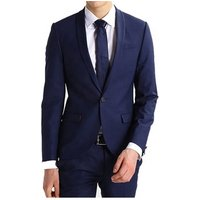 2019 Fashion New Style Wool Blended Latest Design Coat Pant Men Suit Tailored Suit