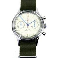 Exhibition Case Back Seagull 1963 Mechanical Chronograph Mens Wrist watch Pilot watch B-uhr Official Reissue D304 1963  Dress