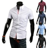 New Fashion Designer Long Sleeve Slim Fit High Quality Solid Men Dress Shirt Male Clothing Business Shirts