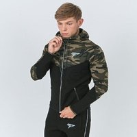 Hot sale muscle fitness mens sweater camouflage jacket for running