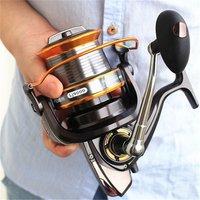YOUME 3000-9000 Size 12+1 Ball Bearings Big Trolling Fishing Reels Feeder Metal Fishing Reel Carp Surf Casting Reel