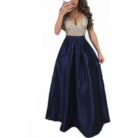 wholesale Fashion decent beautiful flapper maternity plus size gown prom  party mermaid  evening dress long for women