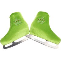 Figure Skating Skate Cover Ice Skating Child Adult Velvet shoes Cover Roller Skate Shoes Accessories Athletic Crown Rhinestones1