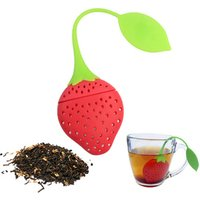 Strawberry Design Silicone Tea Infuser Strainer -Suitable for Use in Teapot, Teacup and More-A Wonderful Gift for Tea Drinker