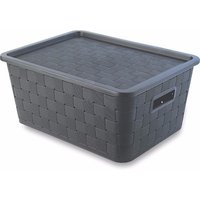 Greenside low price rattan storage boxes with lids,weave basket,storage box pp
