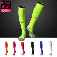 China Manufacturer Sports Soccer Athletic Compression custom long rugby socks