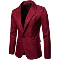 hotsales slim fit coat professional men suit coat red color cheap price factory good quality