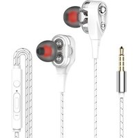 Earphone Wired In-ear Wire-controlled Game Applicable to Apple Android Mobile Phone