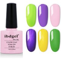 LandM OEM ODM Factory uv gel lidan nail polish Base Top Coat  Soak off Nail Gel Polish 7.3ml
