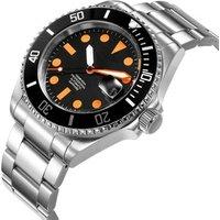 Japan mechanical movement oem watch luxury men watches brand automatic man diver wrist watch