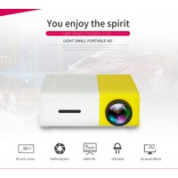 wechip portable mini projector hd 1080p YG300 professional video projector simple shape smart projector
