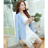 Ladies Blazers Womens Business Suit Single Button Blazer Women Suit Jacket 5 Colors Blazer Female Plus Size