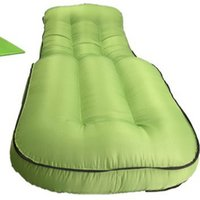 Outdoor sleeping bag Inflatable sofa bed single person lounge S - shaped air chair  camping mattress beach lazy beanbag