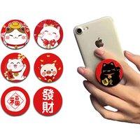 Best Free wholesale custom mobile phone popsocketed holder cellphone pops up socket phone ring holder for smartphone