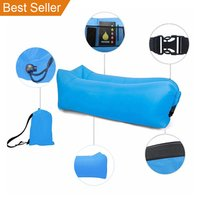 Yoler High Quality Hot Sell Outdoor Pool Inflatable Lounge Couch Lazy Bag Hammock Sleeping Air Bed Sofa Chair