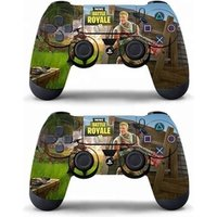 'Data Frog 2 Pcs Sticker For Sony Playstation 4 Ps4 Game Controller Skin Stickers For Ps4 Slim