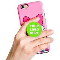 Wholesale custom logo pops phone socket grip mobile phone stand