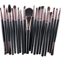 20 pcs/bag Custom Professional Oval Makeup Brush Set