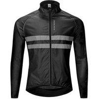 WOSAWE Cycling Light Weight Windbreaker High Visibility Universal Knitwear MTB Cycling Windproof Quick-Qrying Rain Coat Wind