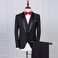 ZH1105B High Quality Hot Sale Business 3pcs set Casual Slim Suit Groom wedding Man  Tuxedo Suit