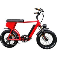 HP-E 73 harley style 13Ah 48v 500w 750w super powered motor generator 40km/h fat tire two 2 seat seater electric bicycle