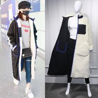 Amazon hot sale New winter warm clothes ladies oversize teddy furry overcoat wear on both sides long jacket Teddy Coat