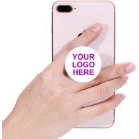 Custom popsocketed phone holder pops up socket with logo