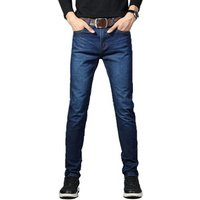 jeans for mens slim fit pants classic jeans male denim Designer Trousers Casual skinny Straight Elasticity pants