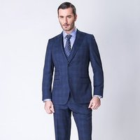 Bespoke Custom Men Suits 3 pieces100%wool Super 130s Half Canvas Latest  Formal Jacket Pant Design Tailors In China