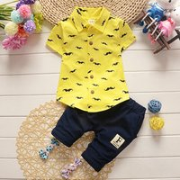 Multi Colors Cotton Baby Clothes Summer Baby Boy Suit Sets In Google