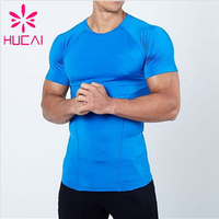 Custom Sports T Shirt Gym Fitted Men Dry Fit Shirts Wholesale