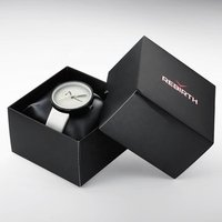 Good Packing Wrist Watch Leather Box Black Packing Box for Gift