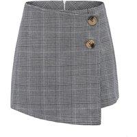 Womens High Waist Bodycon Mini Skirt School Girl Plaid Uniform Skirt