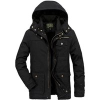cz5008b Latest design winter casual outerwear cotton long mens coat warm fur clothing plus size 6XL parka men